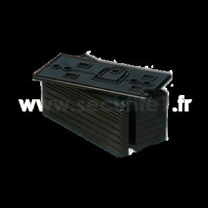Cale d'espacement RISCO RAX73XSBL00A pour détecteur série RWX73M et RWX73F