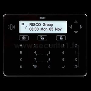 Clavier filaire RISCO RPKEL & RPKELP noir