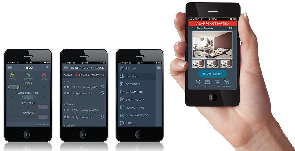 Risco VUpoint et application smartphone iRisco