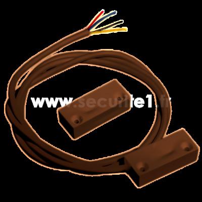 Détecteur magnétique filaire KNIGHT E70 B coloris marron