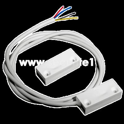 Détecteur magnétique filaire KNIGHT E70 W coloris blanc