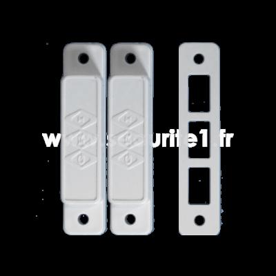Détecteur magnétique filaire GRI28A W coloris blanc