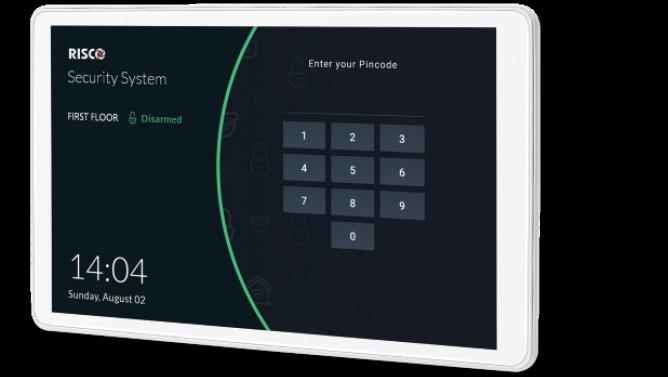Clavier avec écran tactile RISCO RisControl