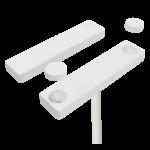 Détecteur filaire Alarmtech MC740 PE coloris blan